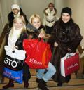 Катание на коньках, участницы конкурса Бриллиантовая невеста 2007 Казань