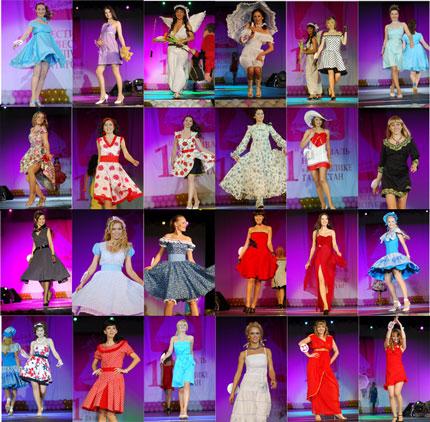 Конкурс ситцевых платьев